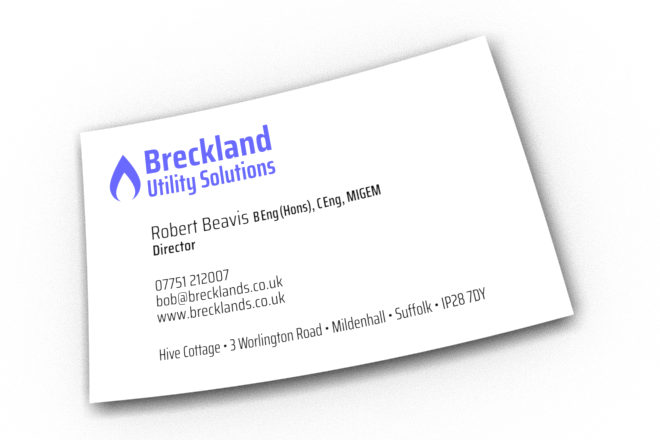 Bob's Business Card